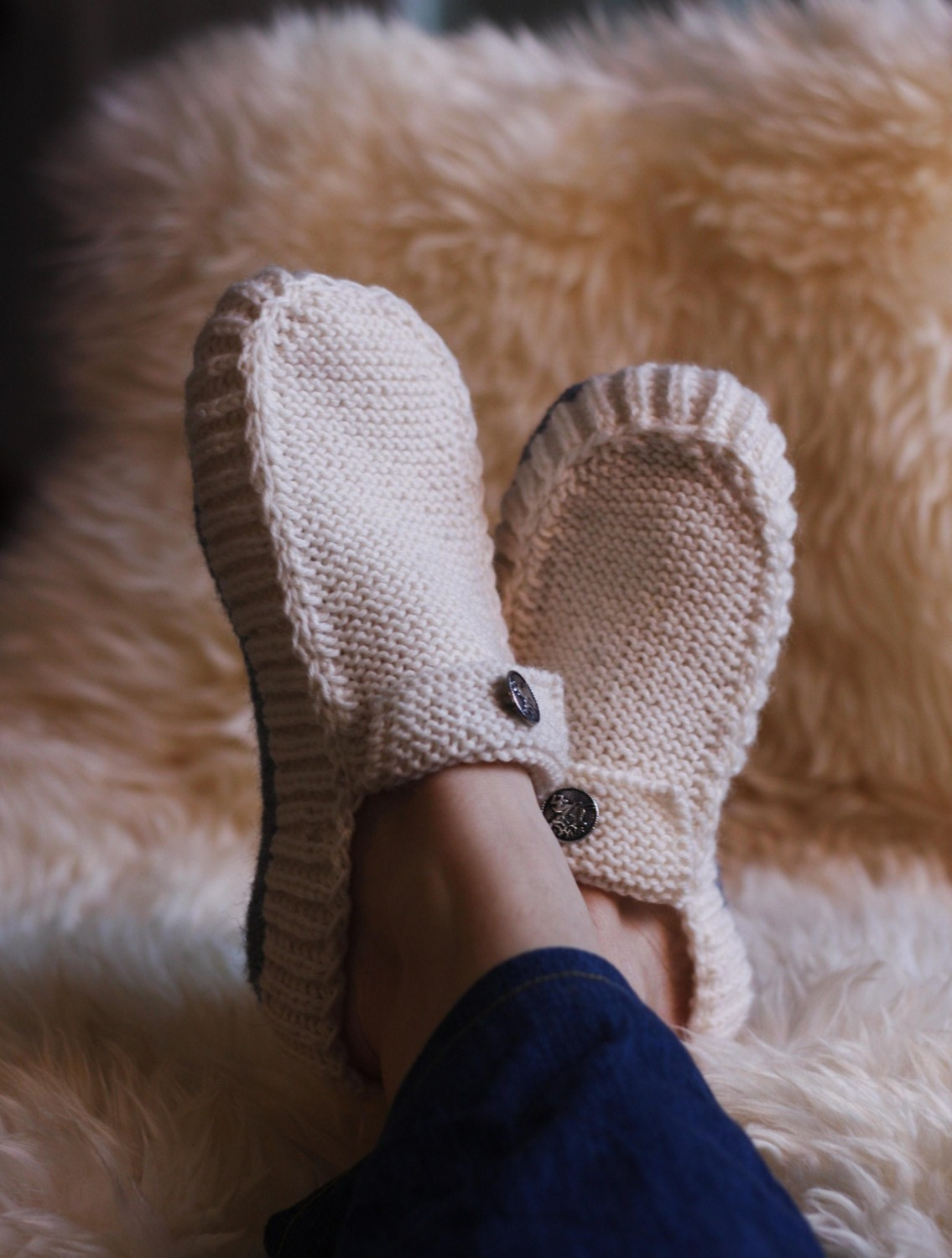 All Seasons slippers Knitting Pattern | A creative life tangled up ...