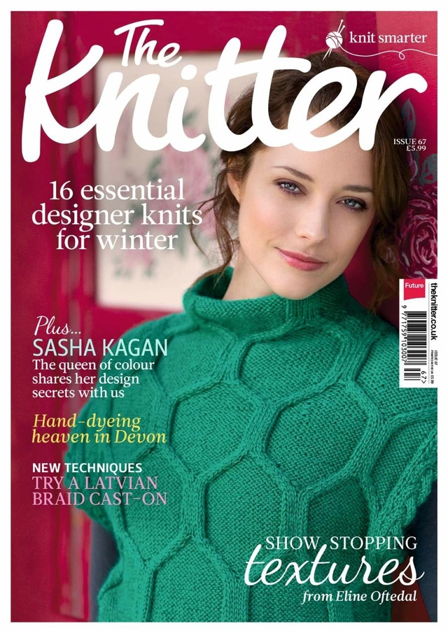 January issue of The Knitter