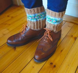 Fari Isle boot cuffs