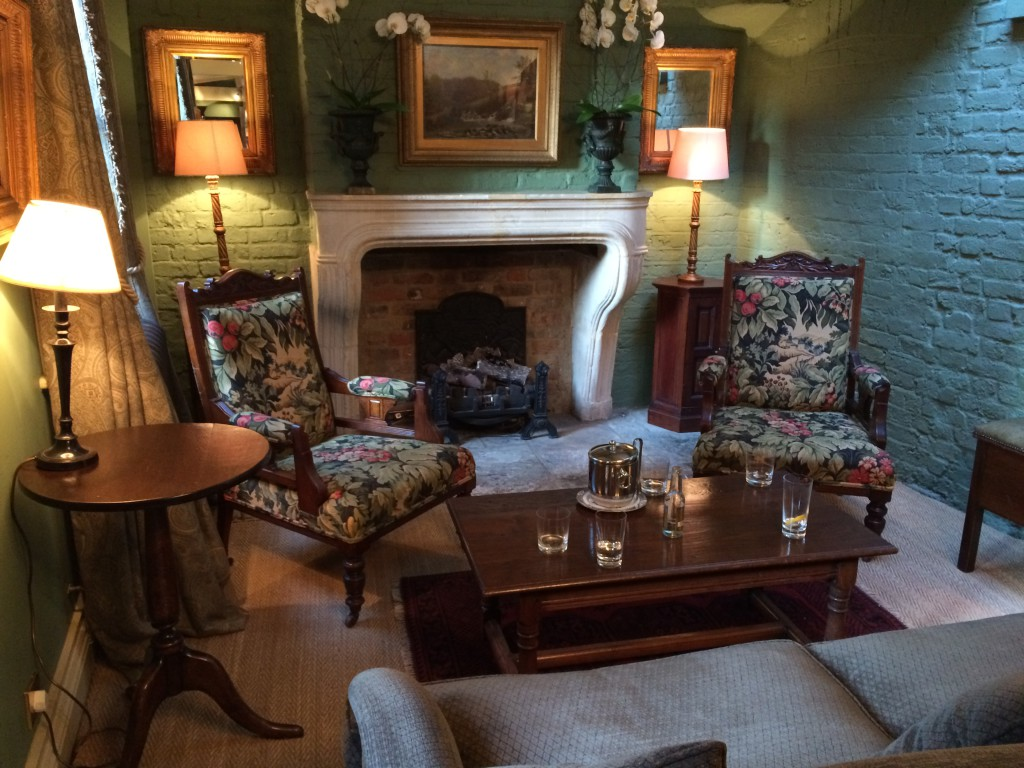 The lounge at The Rookery